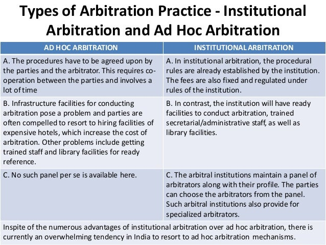 Difference between arbitration and litigation pdf