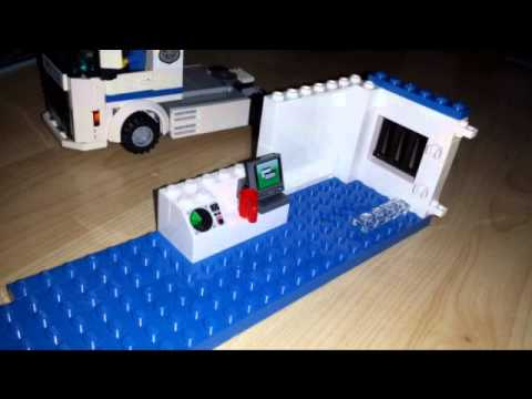 Lego city police truck 60044 instructions