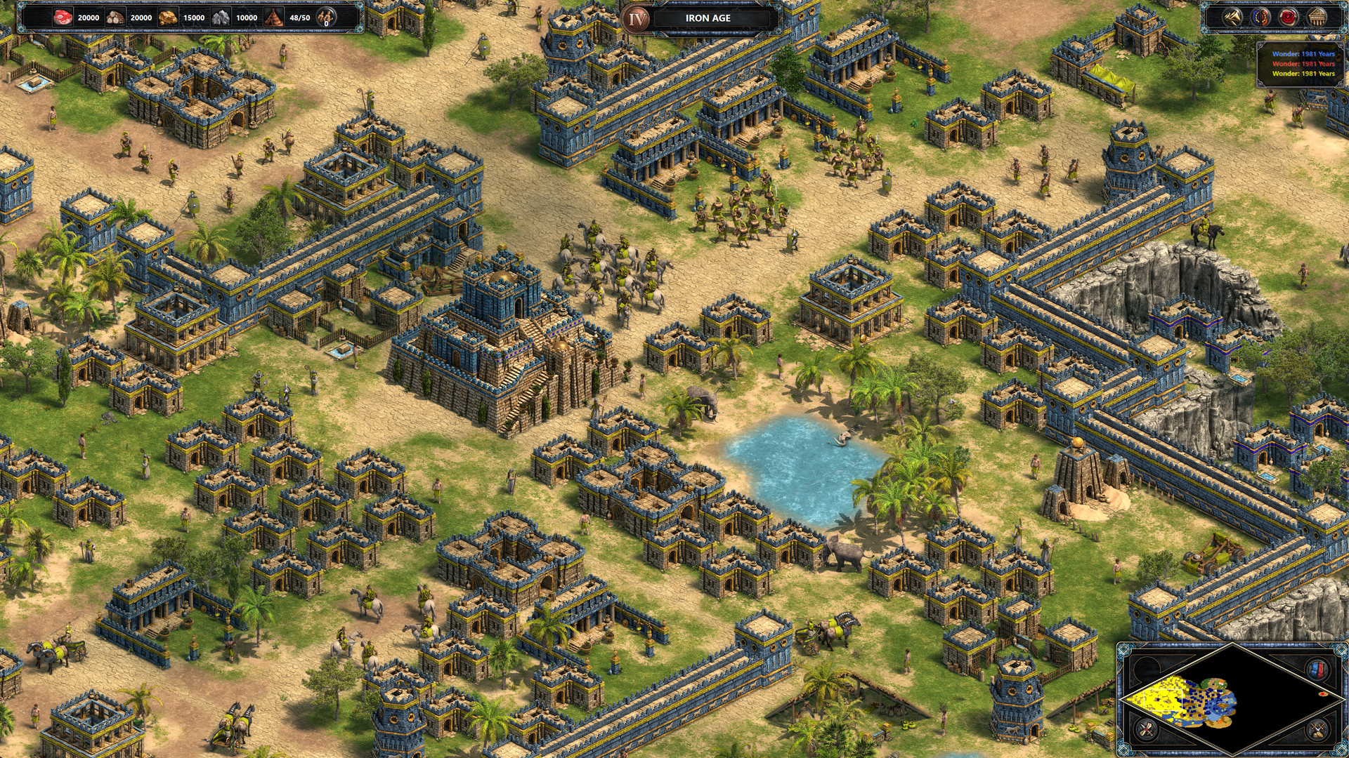 Age of empires definitive edition how to build a farm