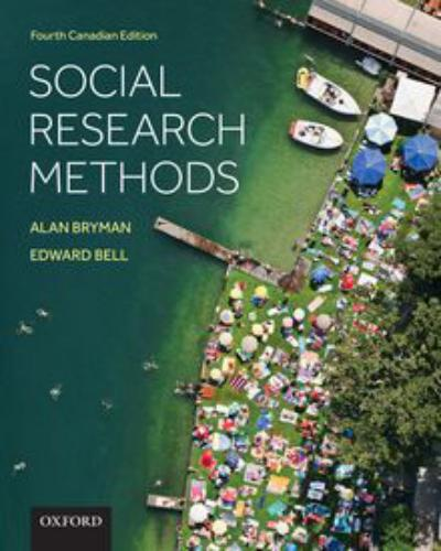 Social research methods 4th canadian ed pdf