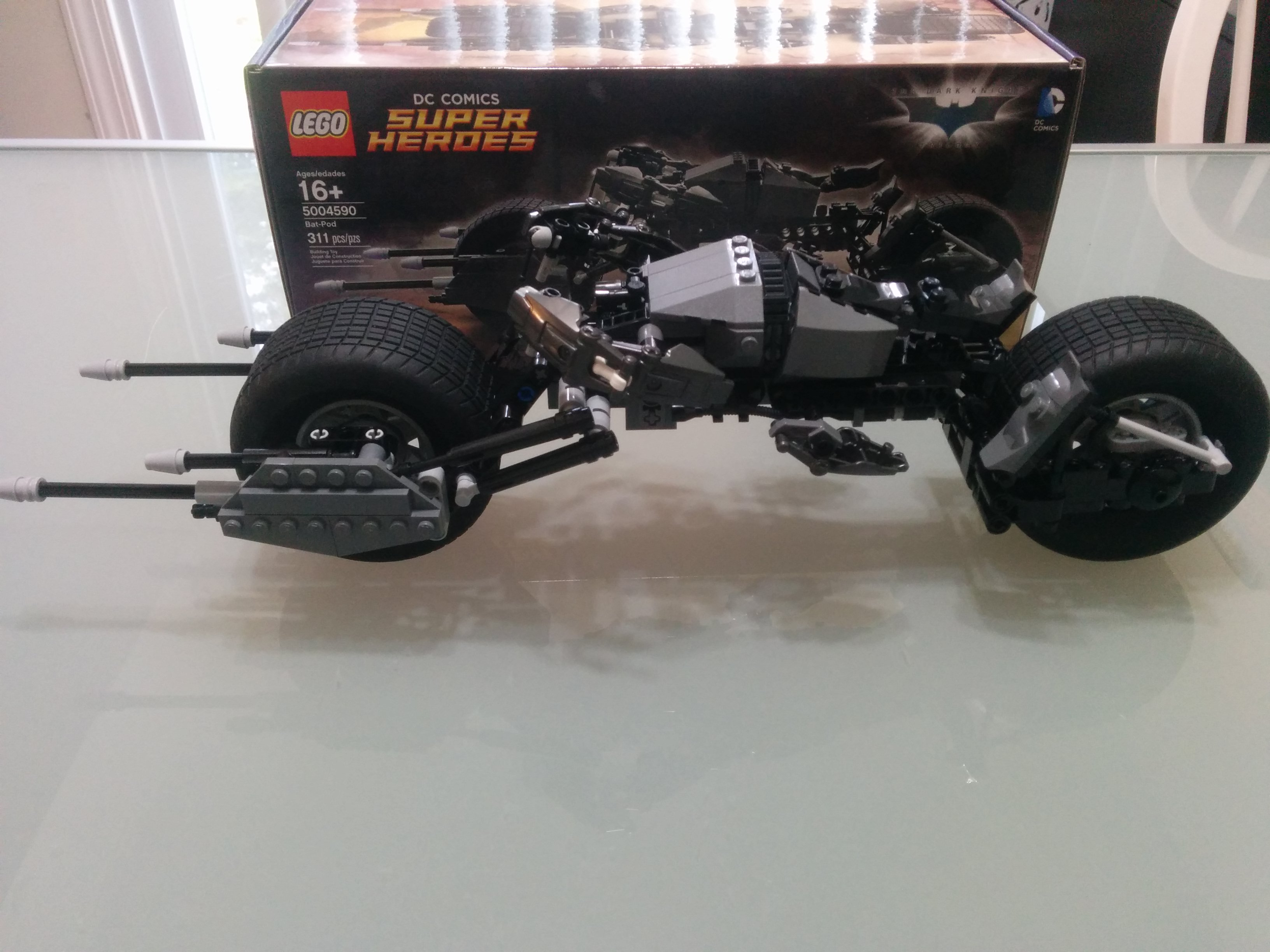 hot toys batpod instructions