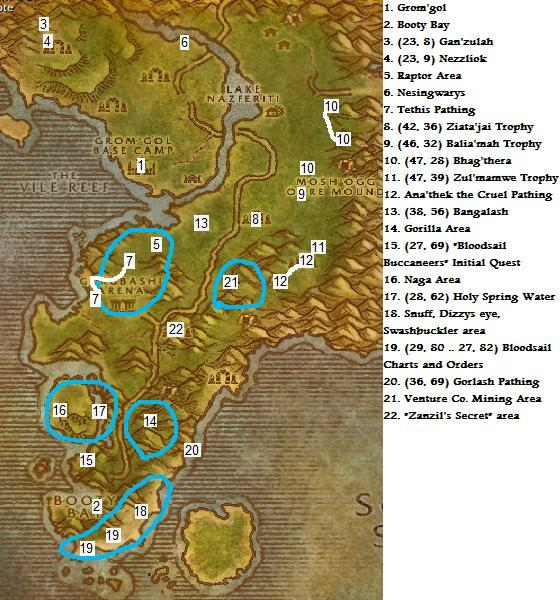 Vanilla wow horde leveling guide