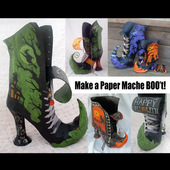 paper mache instructions step by step