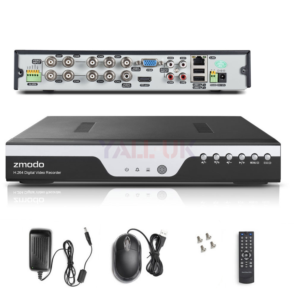 8ch h 264 dvr manual
