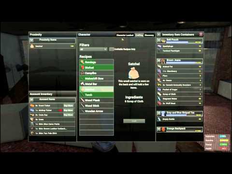 H1z1 just survive craft how to get skin