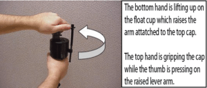 Toilet wont stop running how to adjust the float