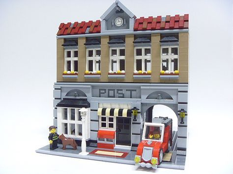 lego city post office instructions