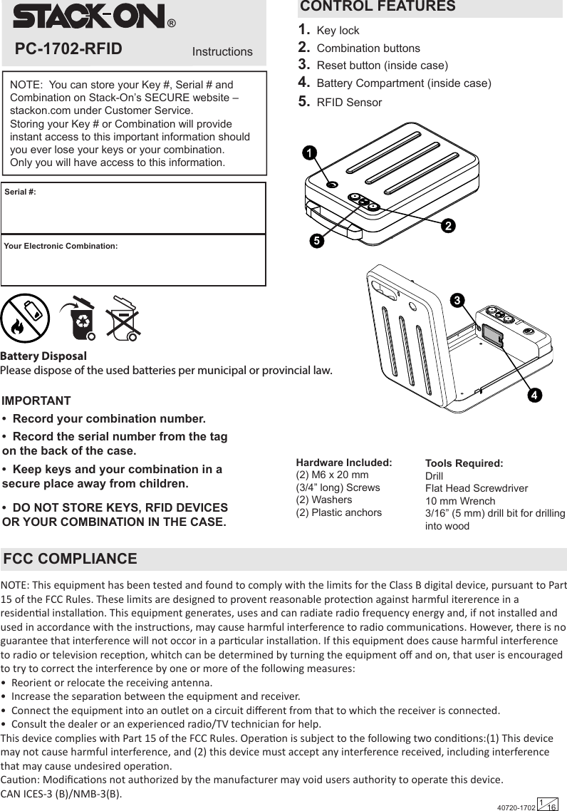 flat stack stapler user manual