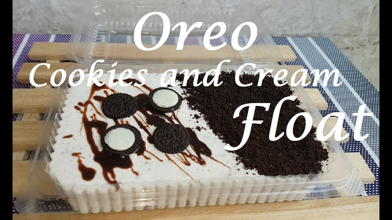 how to make a cookies and cream instructions