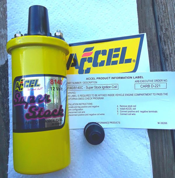 Accel 8140 coil instructions