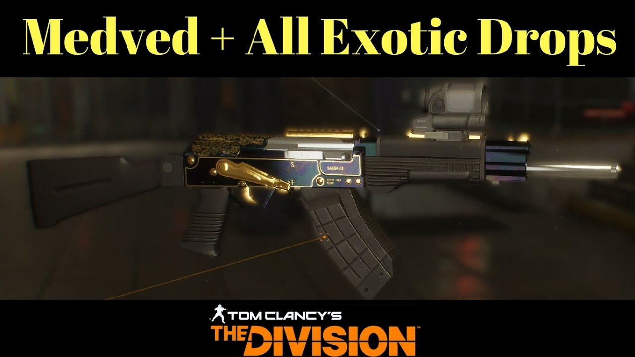 The division big alejandro how to get