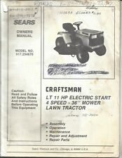 craftsman 675 series lawn mower manual