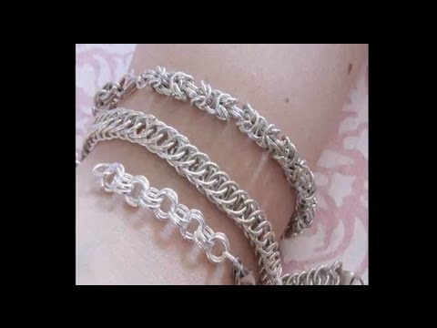free chainmail bracelet instructions