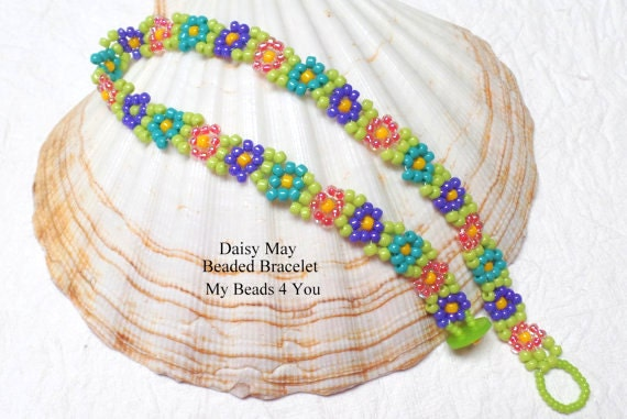 daisy chain necklace instructions