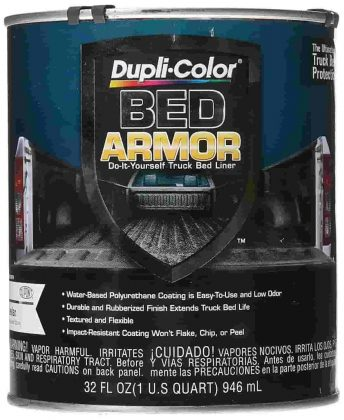 duplicolor bed armor instructions