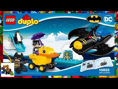 lego duplo batman adventure instructions