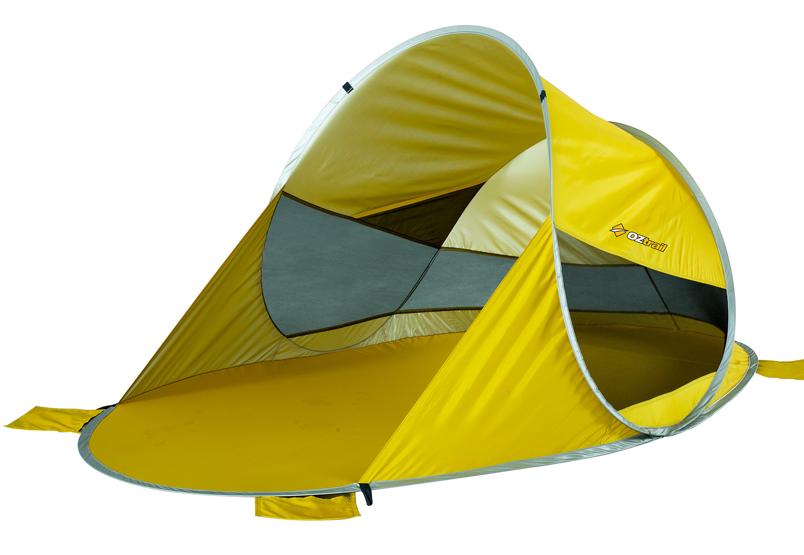 oztrail beach dome pop up instructions