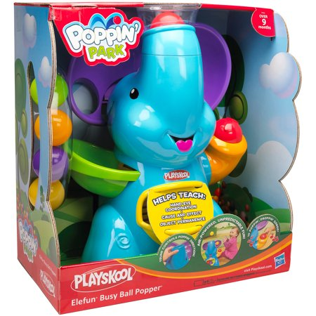 playskool elephant ball popper instructions