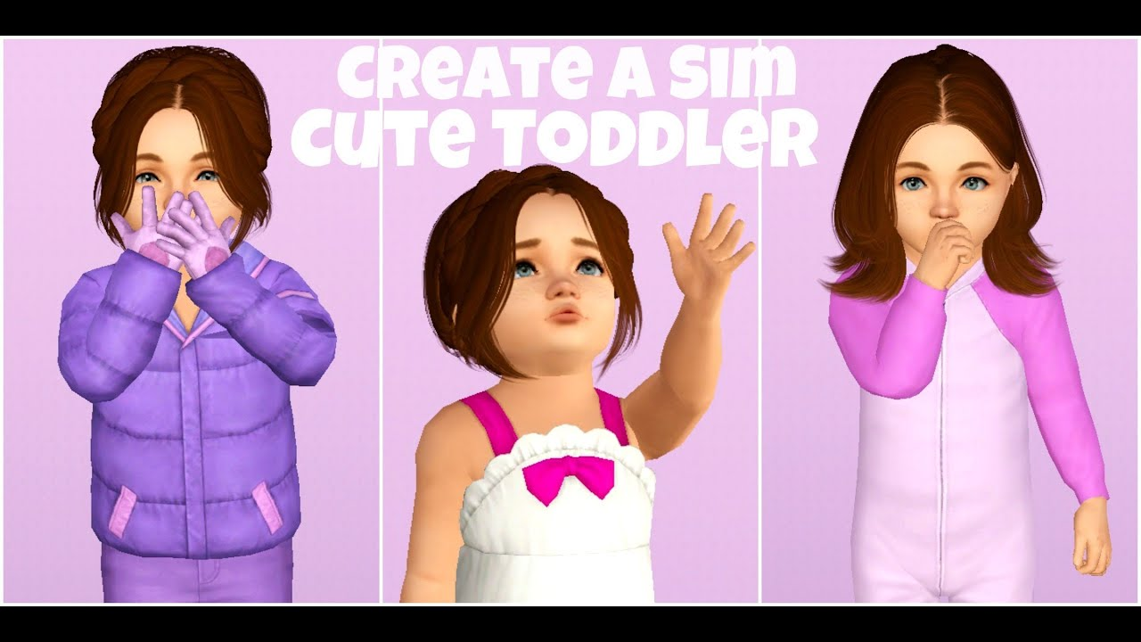 Sims 3 how to change toddlers hair